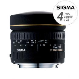 Detail produktu - SIGMA 8/3.5 EX DG CIRCULAR FISHEYE Canon