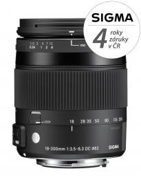 SIGMA 18-200/3.5-6.3 DC MACRO OS HSM Contemporary Canon