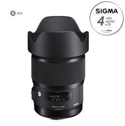 Detail produktu - SIGMA 20/1.4 DG HSM ART Canon