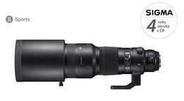 Detail produktu - SIGMA 500/4 DG OS HSM SPORT Canon