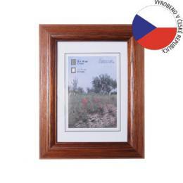 Hama 1228 rámeèek døevìný LORETA, tmavý dub, 15x20 cm