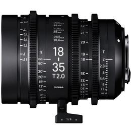 Detail produktu - SIGMA CINE 18-35mm T2 EF mount - Canon