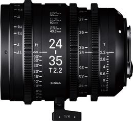 SIGMA CINE 24-35MM T2.2 FF F/CE (METRIC), objektiv CINE pro Canon EF