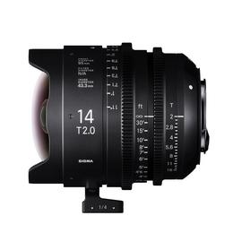 SIGMA CINE 14MM T2 FF F/CE (METRIC), objektiv CINE pro Canon EF