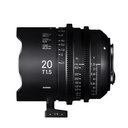 SIGMA CINE 20MM T1.5 FF F/CE (METRIC), objektiv CINE pro Canon EF