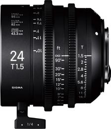 SIGMA CINE 24MM T1.5 FF F/CE (METRIC), objektiv CINE pro Canon EF