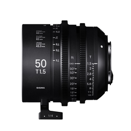 SIGMA CINE 50MM T1.5 FF F/CE (METRIC), objektiv CINE pro Canon EF