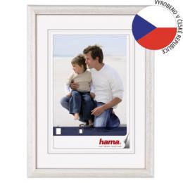 Hama 1153 rámeèek døevìný OREGON, bílá, 15x21cm