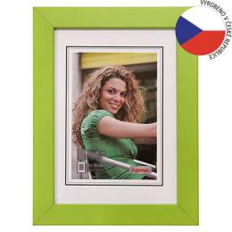 Hama rámeèek døevìný JESOLO, zelená, 10x15cm