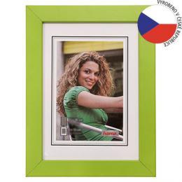 Hama rámeèek døevìný JESOLO, zelená, 15x21cm