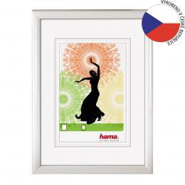 Hama 154490 rámeèek plastový MADRID, bílý, 15x21cm