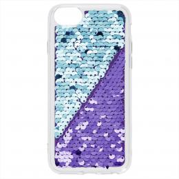 Hama Sequins, kryt pro Apple iPhone 6/6s/7/8, fialový/tyrkysový