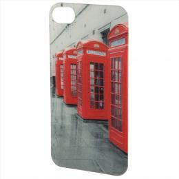 PHONEFASHION Londýn 3D obrázek pro kryt Clear pro Apple iPhone 4/4S