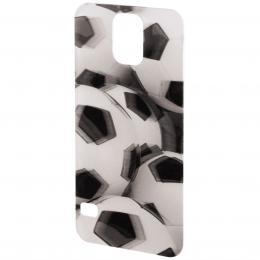 PHONEFASHION Fotbal 3D obrázek pro kryt Clear pro Samsung Galaxy S5