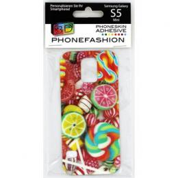 Detail produktu - PHONEFASHION Lízátko 3D obrázek pro kryt Clear pro Samsung Galaxy S5 mini