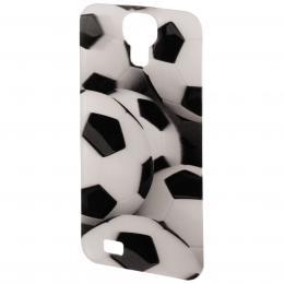 PHONEFASHION Fotbal 3D obrázek pro kryt Clear pro Samsung Galaxy S4