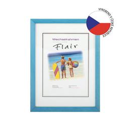 Hama rámeèek døevìný EVA, modrá, 18x24 cm