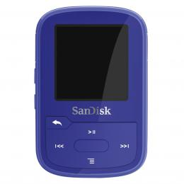 SanDisk MP3 Sansa Clip Sport Plus 16 GB modrá