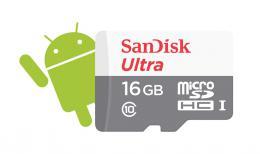 Sandisk Ultra microSDHC 16 GB 80 MB/s Class 10 UHS-I NÁHRADA ZA 139734