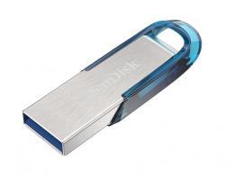 SanDisk Ultra Flair™ USB 3.0 32 GB tropická modrá