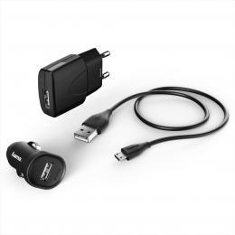 Hama Picco nabíjecí set, micro USB, 1 A,3dílný