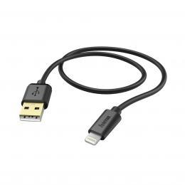 Hama MFI USB nabíjecí/datový kabel pro Apple s Lightning konektorem, 1,5 m, èerný