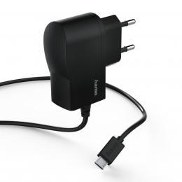 Hama sí�ová nabíjeèka s kabelem, micro USB, 1 A