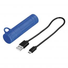 Hama Cap, externí baterie, 2600 mAh, IPX4, modrá