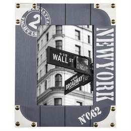 Hama portrétový rámeèek døevìný NEW YORK, 10x15 cm, modrošedý - zvìtšit obrázek