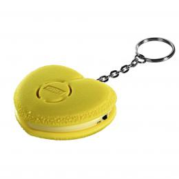 Detail produktu - Xavax osobní alarm Srdce s kroužkem na klíče, žlutý