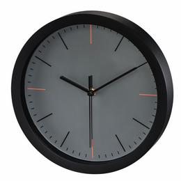 Hama MaxR, nástìnné hodiny, 25 cm, tichý chod, šedé