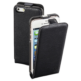Hama Smart Case Flap Case for Apple iPhone 5/5s/SE, black
