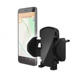 Detail produktu - Hama univerzální držák mobilu ve vozidle, pro zařízení s šířkou 4,5-9 cm