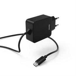 Hama sí�ová nabíjeèka s kabelem, USB typ C (USB-C), 3 A, blistr Basic