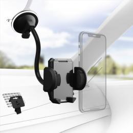 Hama univerzální držák mobilu ve vozidle, pro zaøízenía s šíøkou 4-11 cm, set