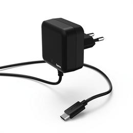 Hama rychlá sí�ová nabíjeèka s kabelem, USB typ C (USB-C), Power Delivery, 3 A