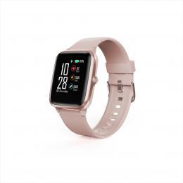 Hama Fit Watch 5910, sportovní hodinky, vodìodolné, GPS, pulz, kalorie, krokomìr atd, rùžové zlato