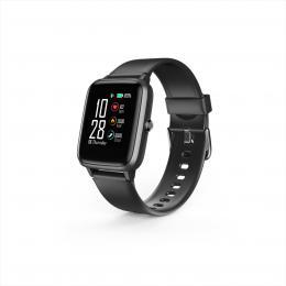 Hama Fit Watch 5910, sportovní hodinky, vodìodolné, GPS, pulz, kalorie, krokomìr atd, èerné