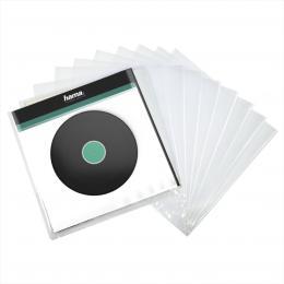Hama vnìjší ochranné obaly na gramofonové desky (vinyl/LP), prùhledné, 10 ks