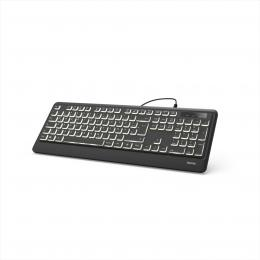 Hama podsvícená klávesnice KC-550
