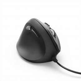 Hama vertikální, ergonomická kabelová myš EMC-500L pro leváky, èerná