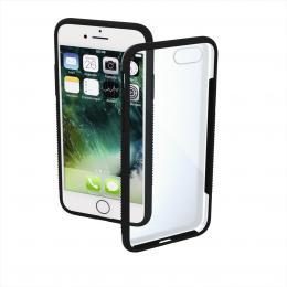 Hama Frame, kryt pro Apple iPhone 7/8/SE 2020, pr�hledn�/�ern�