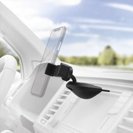 Hama držák mobilu do vozidla, uchycení v CD slotu, pro zaøízení se šíøkou 6-8 cm - zvìtšit obrázek