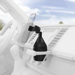 Hama držák mobilu do vozidla, uchycení v držáku na nápoj, pro zaøízení s šíøkou 6-8 cm