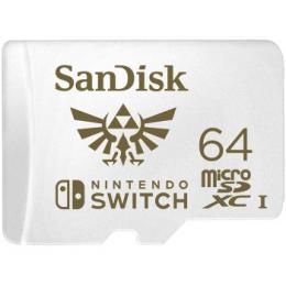 Sandisk Nintendo Switch micro SDXC 64 GB 100 MB/s A1 C10 V30 UHS-1 U3