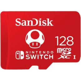Sandisk Nintendo Switch micro SDXC 128 GB 100 MB/s A1 C10 V30 UHS-1 U3