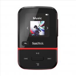 SanDisk MP3 Clip Sport GO 16 GB иervenб