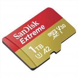 SanDisk Extreme micro SDXC 1 TB 160 MB/s A2 C10 V30  UHS-I U3, adaptйr