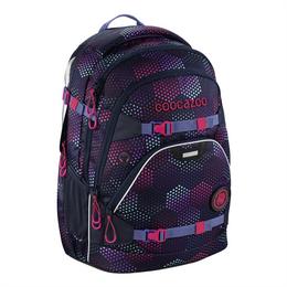Školní batoh coocazoo ScaleRale, Purple Illusion, certifikát AGR