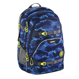 Školní batoh coocazoo ScaleRale, Brush Camou, certifikát AGR